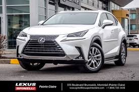 used 2018 lexus nx nx 300 awd gr luxe for sale in montreal demo