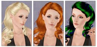 sims 3 hair custom content lotus s journal