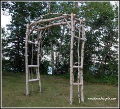 wedding arch kit large ii birch wedding arbor kit wedding arbors arbors
