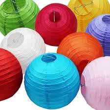 lanterne de sol en papier aliexpress com acheter chinois papier lanterne lampion rond 4 u0027 u00276
