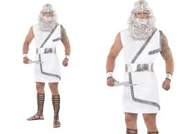 roman halloween costumes zeus costume mens roman greek fancy dress costume toga party