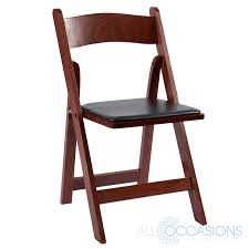 wooden chair rentals mahogany wood garden chair all occasions party rental