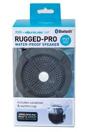 rugged pro waterproof speaker soundlogic waterproof bluetooth