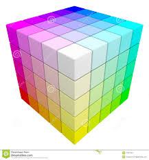 Cmyk Spectrum Rgb U0026 Cmyk Color Cube Stock Image Image 27461991