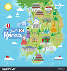 Map Of South Korea South Korea Map Ppt