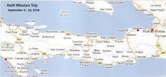 Haiti Map Haiti Mission Trip