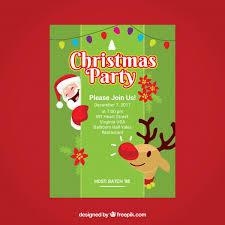 christmas flyer vectors photos psd files free download