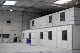 amso aménagement bureau et mezzanine d entrepôt