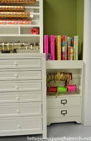 Martha Stewart Craft Paper - gift wrapping room with martha stewart craft gift wrap hutch and