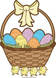 basket easter easter basket clipart black and white images easter day