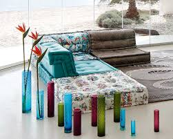 mah jong sofa bobois mah jong sofa in jean paul gaultier designed upholstery