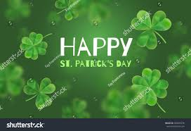 template design banner on st patricks stock vector 584065378