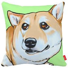 pug home decor cartoon border collie pug bulldog bichon dog print car decorative