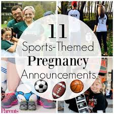 11 winning sports themed pregnancy announcements pregnancy