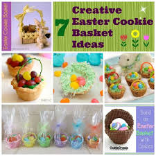 cookie baskets easter cookie baskets