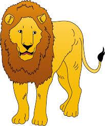 clip art clip art of a lion