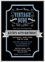 40th birthday party invitations who u0027s turning forty