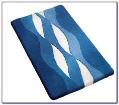 Blue Bathroom Rugs Navy Blue Bathroom Rug Set Rugs Home Decorating Ideas Lqovmmlz3g