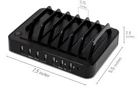 Diy Multi Device Charging Station Lavolta Multiple Device Charging Station 7 Port Usb Iphone Ipad