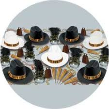 new years party kits western nights assortment for 50 new years party kit