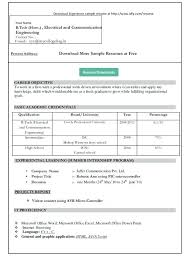 free sample resume download resume template and professional resume