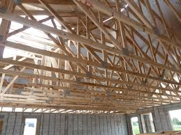 prefabricated roof trusses installed prefabricated engineered wood roof trusses opening 20 year