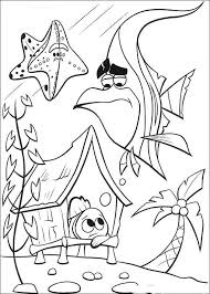 disney finding nemo coloring pages free crafts