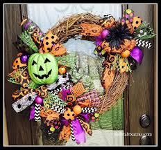 11 cute and creepy halloween wreaths under a texas sky