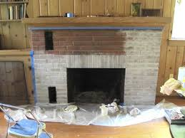 new can you paint brick fireplaces home design planning excellent