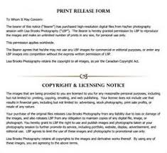 free model release form for photographers business plan