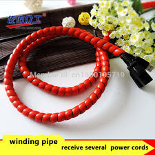 6 meters 12mm winding pipe electric wire arrangement storage