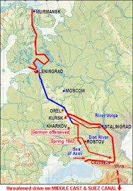 Stalingrad On Map Stalingrad By Ross Davis