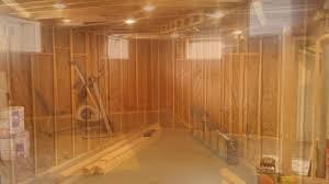 basement framing u0026 drywall youtube