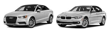 audi a3 vs bmw 3 series your winner in the audi a3 sedan vs bmw 3 series showdown