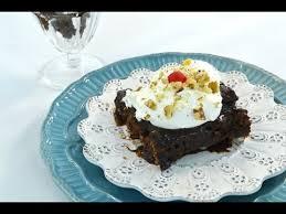 fudge sundae dump cake dessert easy chocolate cake recipe