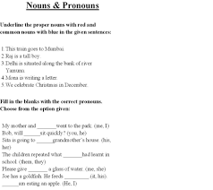 8th grade grammar worksheets best images of english nouns 8th