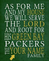 Green Bay Packers Home Decor Green Bay Packers Personalized