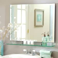 frameless beveled mirror medicine cabinet frameless mirrored