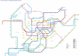 Metro Violet Line Map by Chongqing Urban Forest 385m 1263ft 85 Fl Pro Page 3