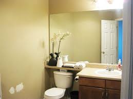 contemporary bathroom decor with plants toilet decorating ideas