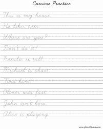 templates for handwriting cursive worksheets new 14 handwriting practice templates handwriting
