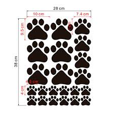 dog paw print stickers the new sticker design