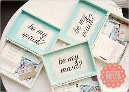 bridesmaids invitation boxes 7 best bridesmaid invitation box images on be my