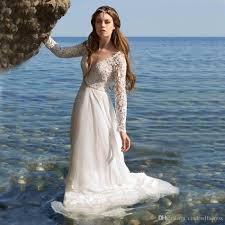 discount vestido de noiva simple beach wedding dresses 2017