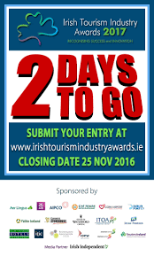 tourism industry awards 2 days to closing date itic