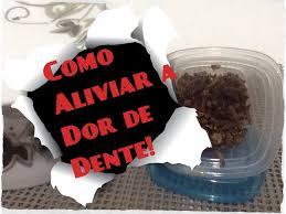Preferidos COMO ALIVIAR A DOR DE DENTE (RECEITINHA CASEIRA) - YouTube &LG63