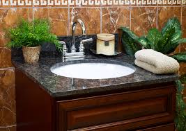 lesscare u003e bathroom u003e vanity tops u003e granite tops u003e tan brown