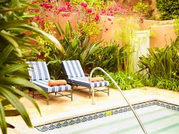 landscaping ideas for pool areas pictures