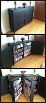 Cd Storage Cabinet With Doors by Excellent Diy Dvd Storage Shelves Photo Design Ideas Tikspor