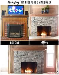 brick fireplace update by leslie stocker tutorials originals